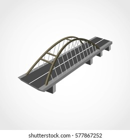Bridge 3D Design Vector