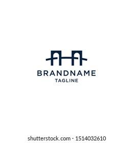 Bridge Corporation Logo Design Template