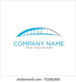 bridge logo design concept