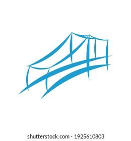 bridge logo design eps 10