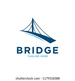 bridge logo design template