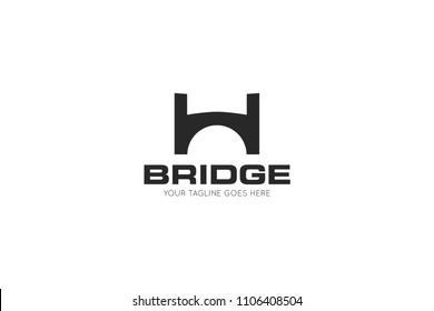bridge logo, icon, symbol