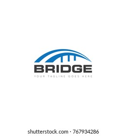 bridge logo, icon, symbol, design template