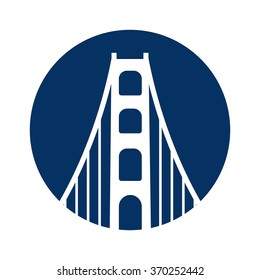 bridge logo vector.