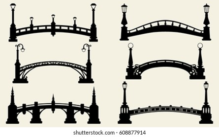 Bridge silhouettes