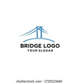 bridge street vector logo design graphic line art