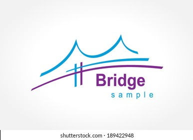 bridge symbol emblem sign