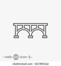 bridge vector icon