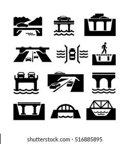 Bridges Vector Icons