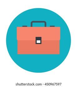 Briefcase Colored Vector Icon
