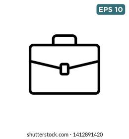 briefcase - suitcase icon vector design template