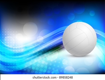 Bright abstract background with ball