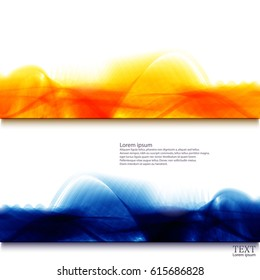 Bright abstract background. Vector illustration.