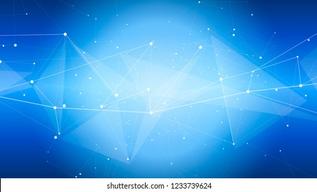 bright abstract illustration of a digital world - a color defocused background and a digital wave. It symbolizes the digital economy, network technologies, cloud technologies, Internet, communications