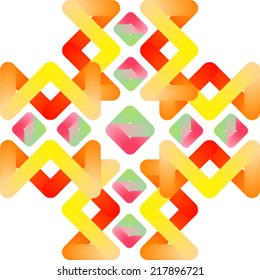Bright abstract pattern.