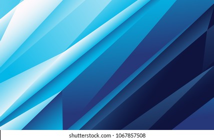 Bright abstract polygonal background / splash screen. Modern vector illustration with triangles for use in design. Trendy, fashion computer art.