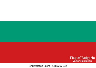 Bright background with flag of Bulgaria . Happy Bulgaria day background. Bright button with flag.