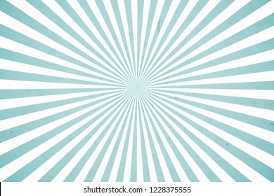 Bright blue rays vector background
