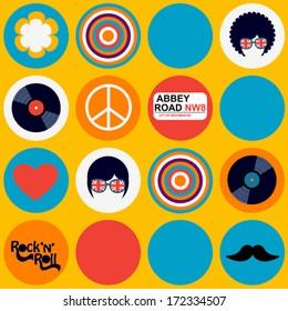 bright british musical pattern