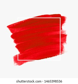 Bright brush painted acrylic background vector. Perfect design for headline and sale banner.