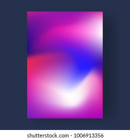 Bright color abstract pattern background, gradient texture for minimal dynamic cover design.