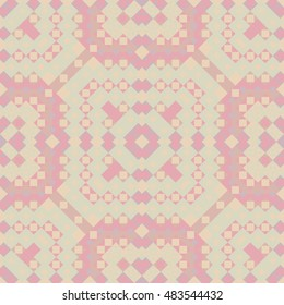 Bright colored seamless pattern. Abstract background. Ethnic print template for fabric and paper. Summer fashion.