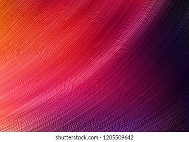 Bright Colorful Background with Dynamic Lines. Vector Minimalist Texture. Abstract Fluid Gradient. Vibrant Illustration for Posters, Presentations, Web Banners, Greeting Cards and Promotion.