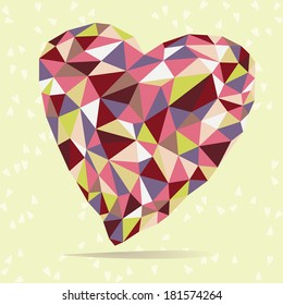 Bright Crystal Heart