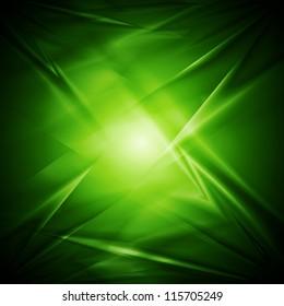 Bright green elegant background. Vector illustration eps 10