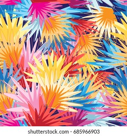 Bright multicolored abstract pattern with different shades of the palette