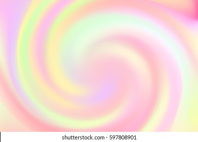 Bright pink background with soft colorful swirl. Vector illustration for your graphic design.