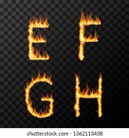 Flaming Letters Images, Stock Photos & Vectors | Shutterstock