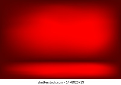 Bright red light effect room background