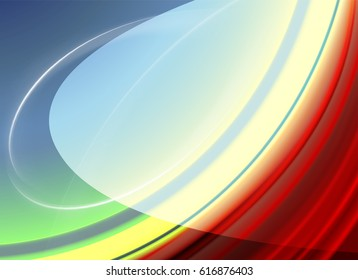 bright red shimmering abstract background in the form of an ellipse