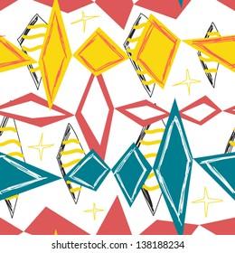 bright rhombus seamless background