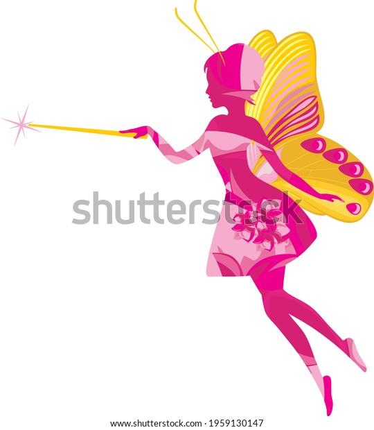 bright-silhouette-fairy-vector-600w-1959