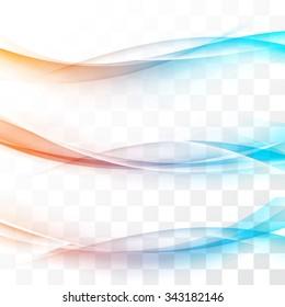 Bright speed futuristic fashion border lines transparent streaks web divider collection. Vector illustration