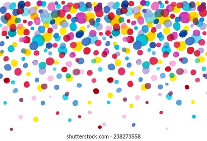Bright Spot watercolor dot endless pattern. Ideal for printing onto fabric and paper or decoration.