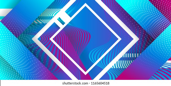 Bright textured paper background with multicolored stripes modern dynamic geometric sports background poster for playing football basketball or croquet. Vector illustration