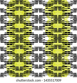 Bright urban abstract geometric seamless vector pattern for hipsters