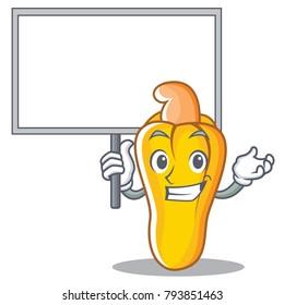 Bring board cashew character cartoon style