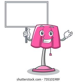 Bring board furniture lamp character cartoon