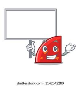 Bring board quadrant character cartoon style