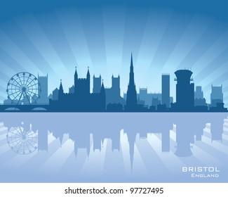 Bristol, England skyline