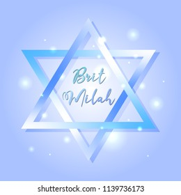 Brit Milah! Jewish tradition. Holiday. Judaism. Greeting cards for a boy