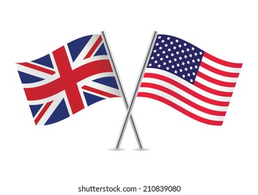 Image result for british and us flags