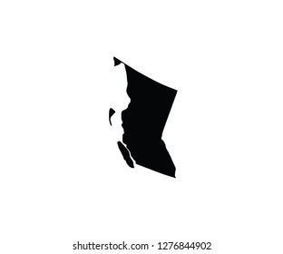British Columbia Outline Images Stock Photos Vectors