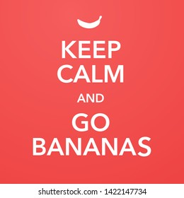 british motivational poster replica with banana joke vector