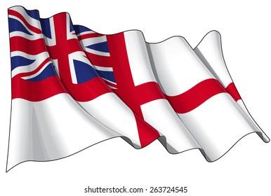 British Naval Ensign (Flag)
