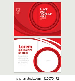 Brochure cover and inner pages design template/ Abstract background with geometrical pattern/ Presentation slides layout design/ Design element for business card and stationery set/ Backdrop design